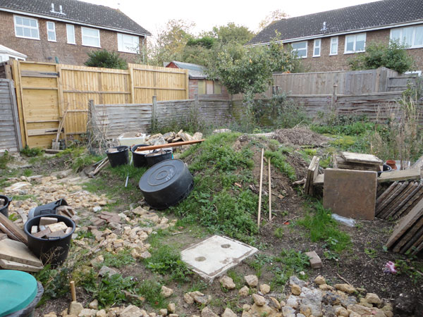 Before and after garden makeover ideas landscape for Garden makeover