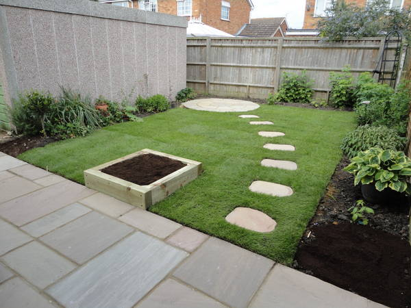 Patio And Stepping Stones 1