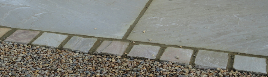 Garden landscaping - pathway - Grange-over-Sands-Click here to find out more